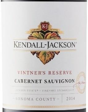 "2014 Kendall-Jackson Cabernet Sauvignon ""Vintner's Reserve"""