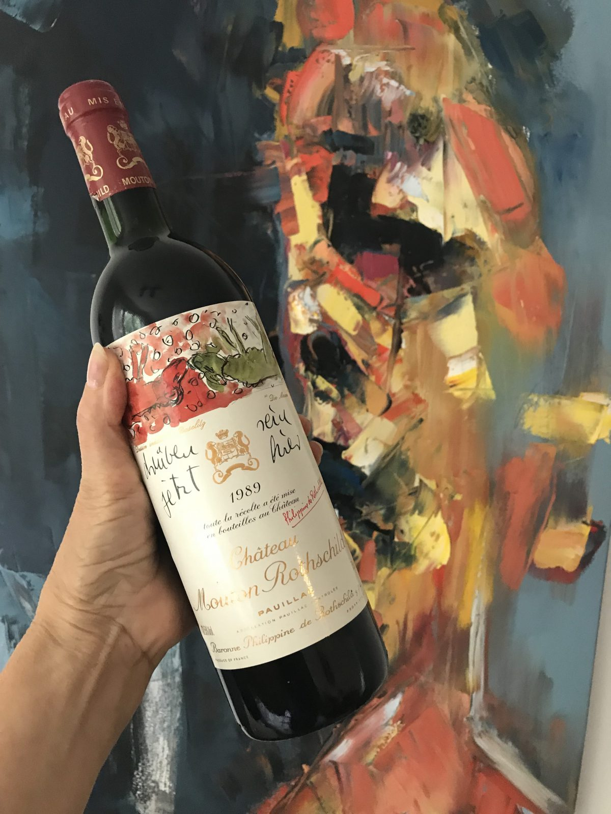 Wine Review: Chateau Mouton Rothschild 1989