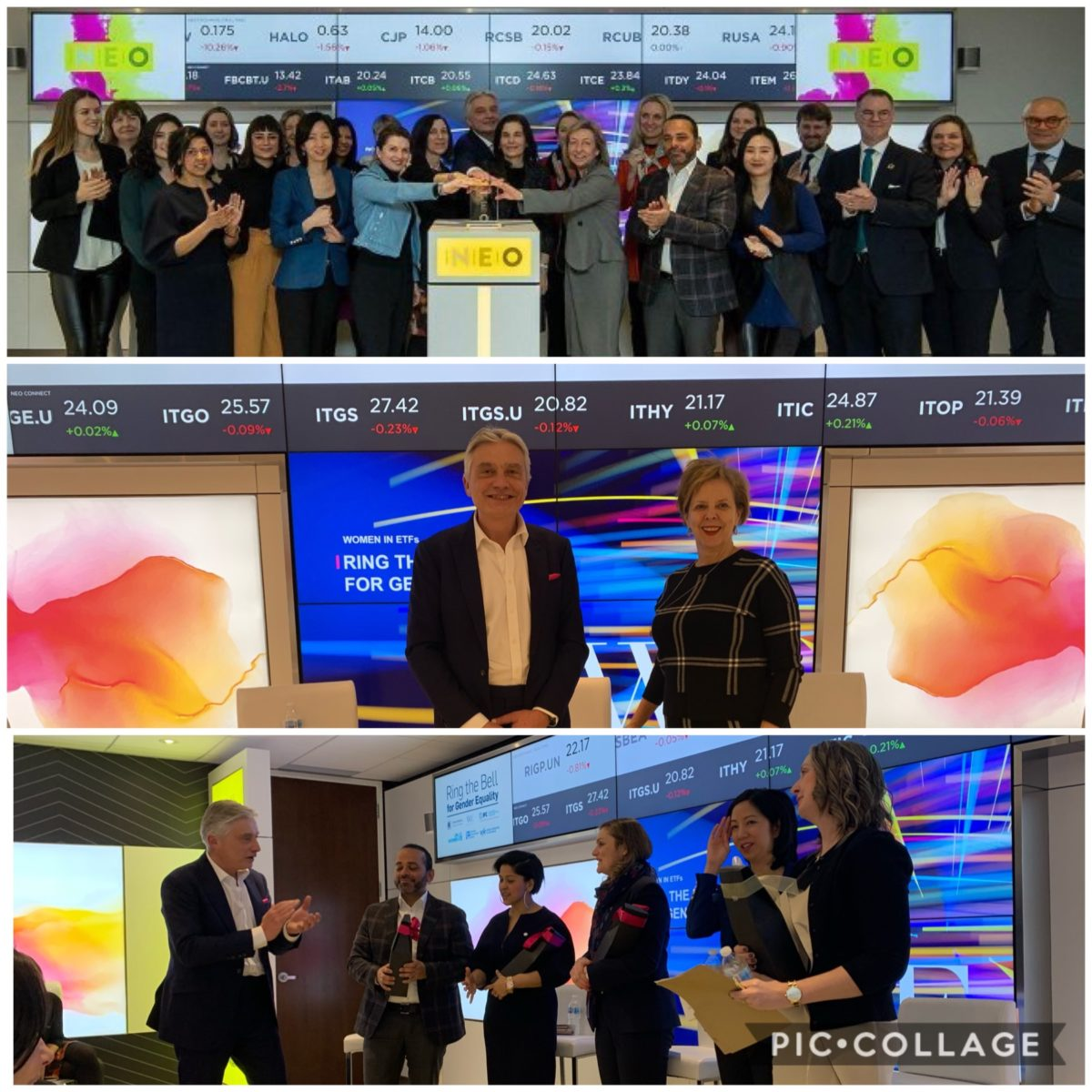 Ring the Bell for Gender Equality 2019 at NEO Exchange – Toronto