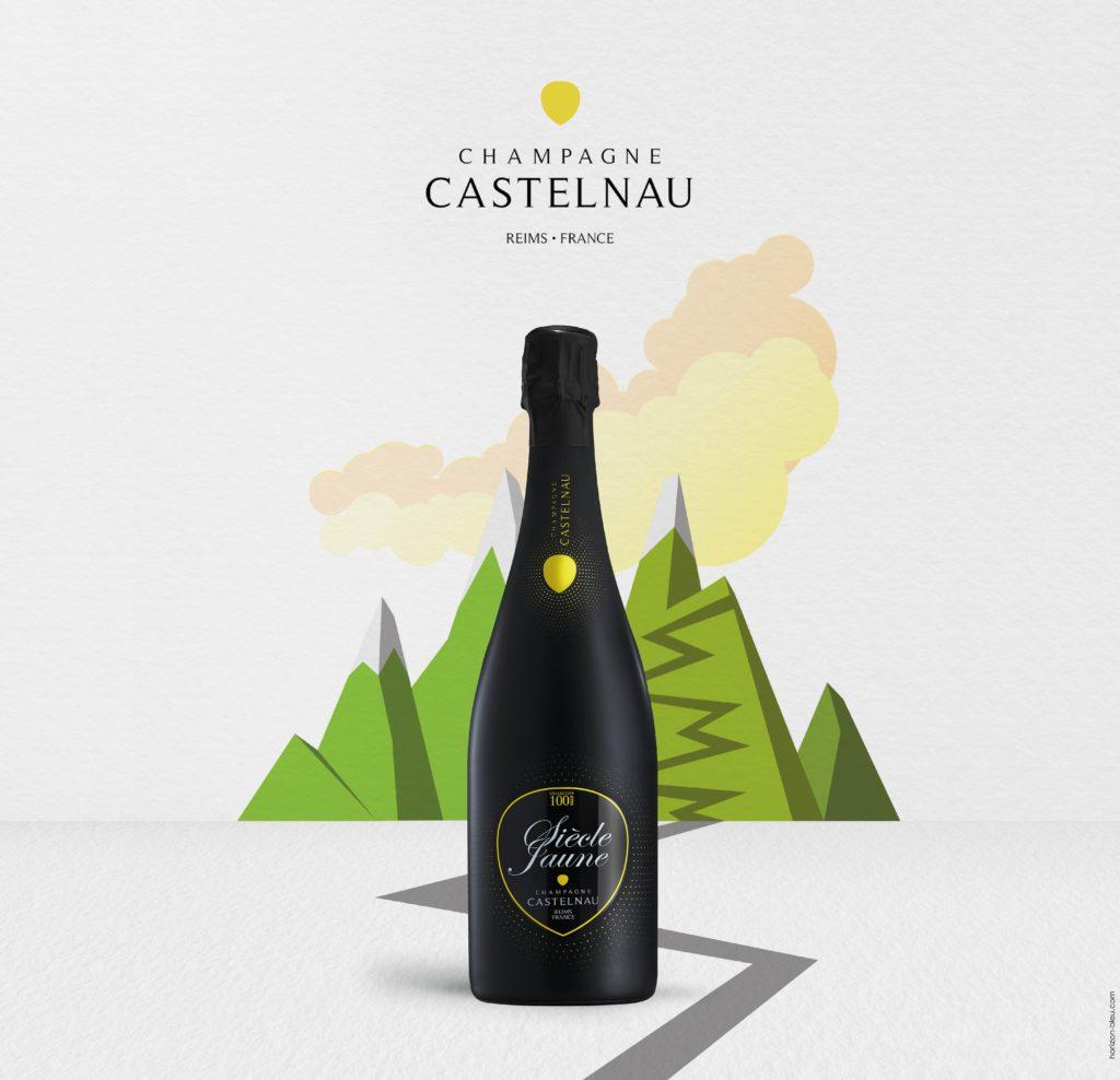 Champagne Castelnau is the official sponsor of the Tour de France 2019