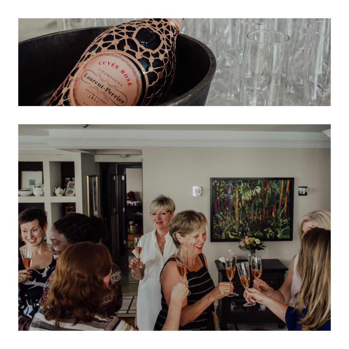 Les Dames d'Escoffier – Ontario Celebrate with Laurent-Perrier Cuvee Rose Constellation