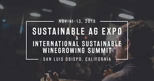 The International Sustainable Wine Growing Summit is coming to San Luis Obispo, California on November 11-13, 2019
