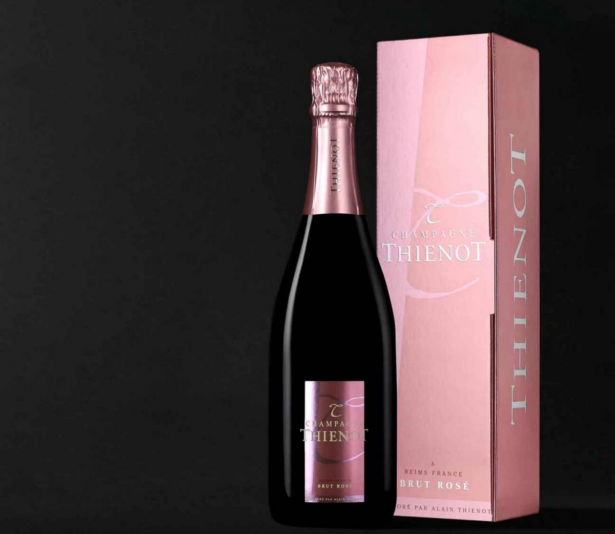 Champagne Thiénot Unveils Thiénot Brut Rosé