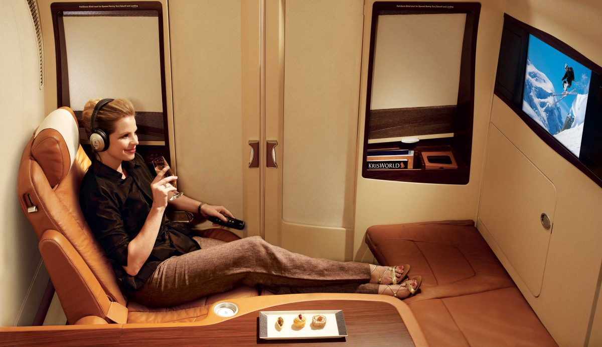 """It's Official:  Prelude """"Grands Crus"""" Taittinger is now served on Singapore Airlines, Business Class"""