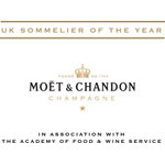 Tanguy Martin of Hotel TerraVina has been named Moët UK Sommelier for 2015