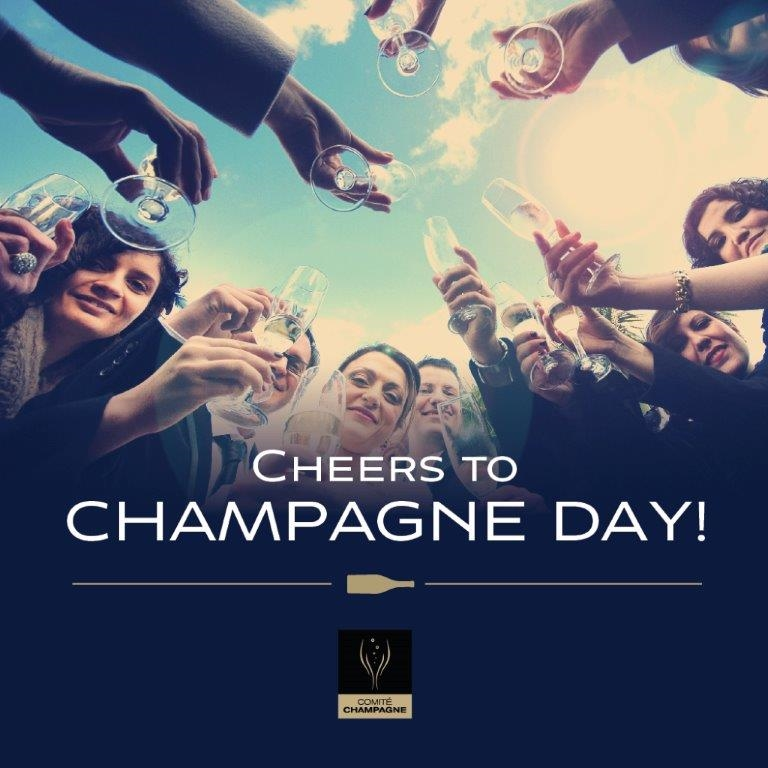 Need an excuse to drink champagne….
