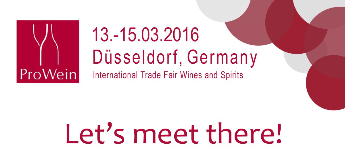 Canada at ProWein 2016 [30 and 50 Degrees North]
