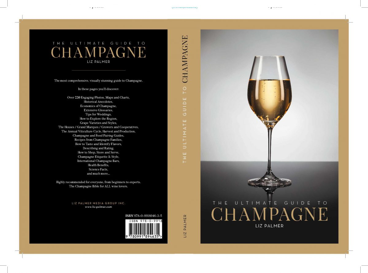 "News Release:  Liz Palmer's The Ultimate Guide To Champagne is now being recognized as the ""The Champagne Bible for ALL wine lovers."""