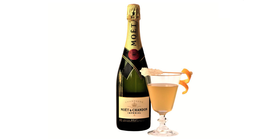 The 74th annual Golden Globe Awards Champagne Cocktail is Revealed