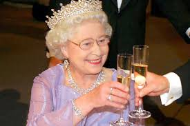 Queen Elizabeth Ends Every Day with a Glass of Champagne