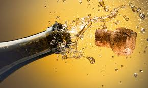 Champagne is on a strong upswing in the U.S. market