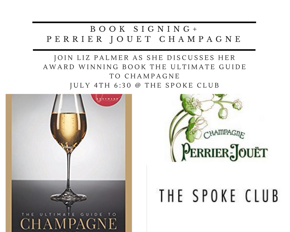 AperoVIP Event:  Liz Palmer Book Signing + Champagne at The Spoke Club Rooftop