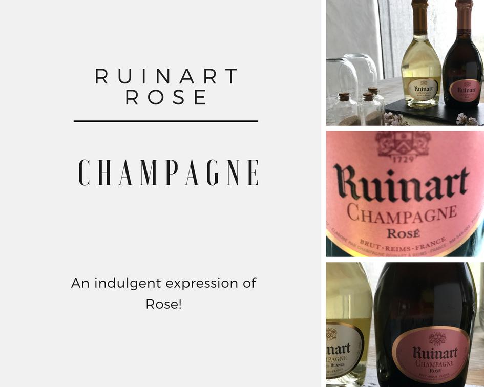 WINE REVIEW:  RUINART ROSÉ