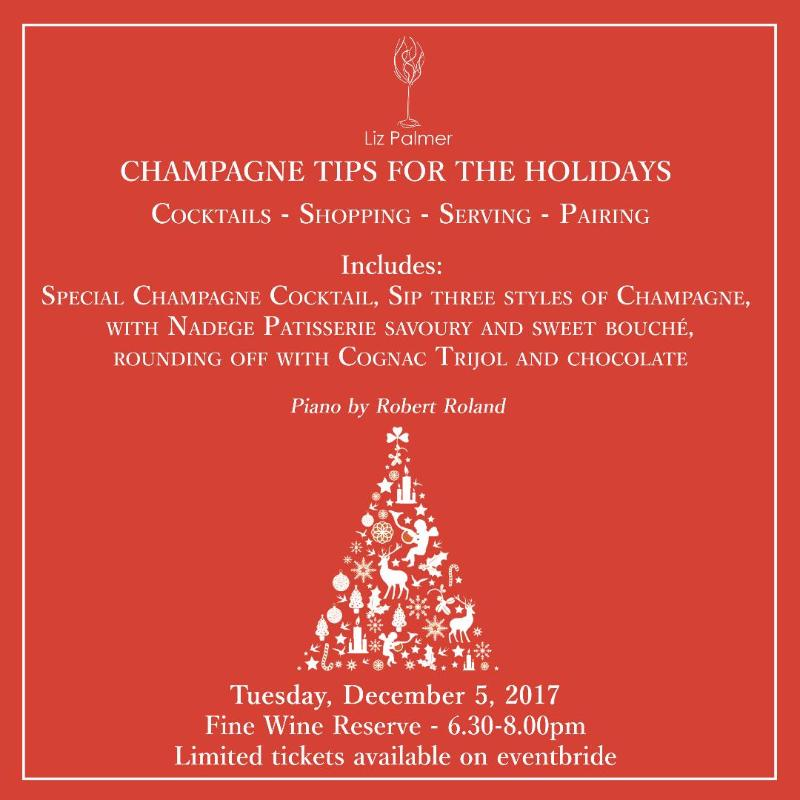 Toronto Event – Champagne Tips For the Holidays