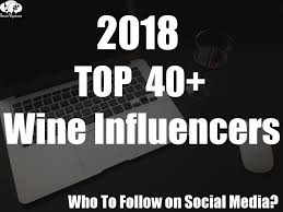 Liz Palmer listed by Social Vignerons as one of 2018's Top 40 Wine Influencers