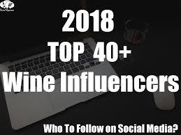 Liz Palmer listedby Social Vignerons asoneof 2018'sTop40 Wine Influencers