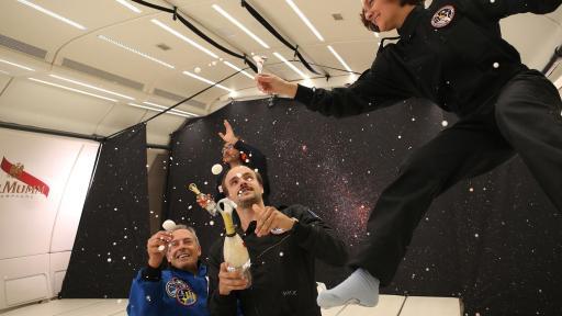 Champagne Mumm Launches Zero-Gravity Bottle Design