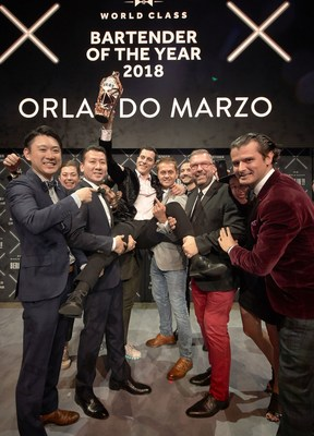 Australia's Orlando Marzo Named World's Best Bartender