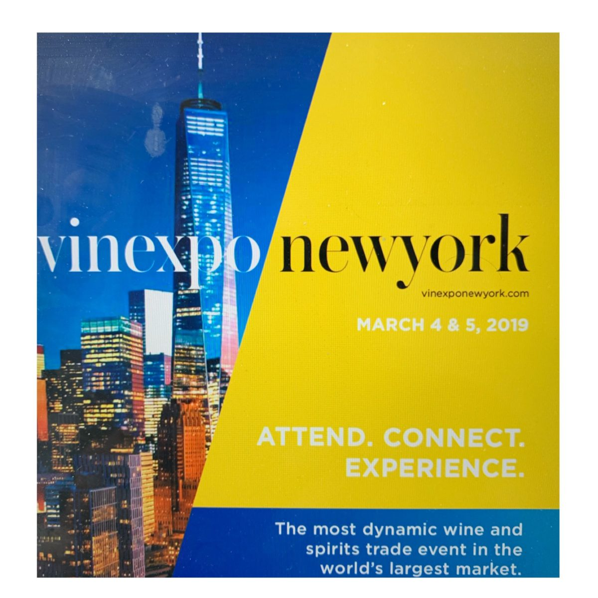 Vinexpo New York Launches 2020 Brochure
