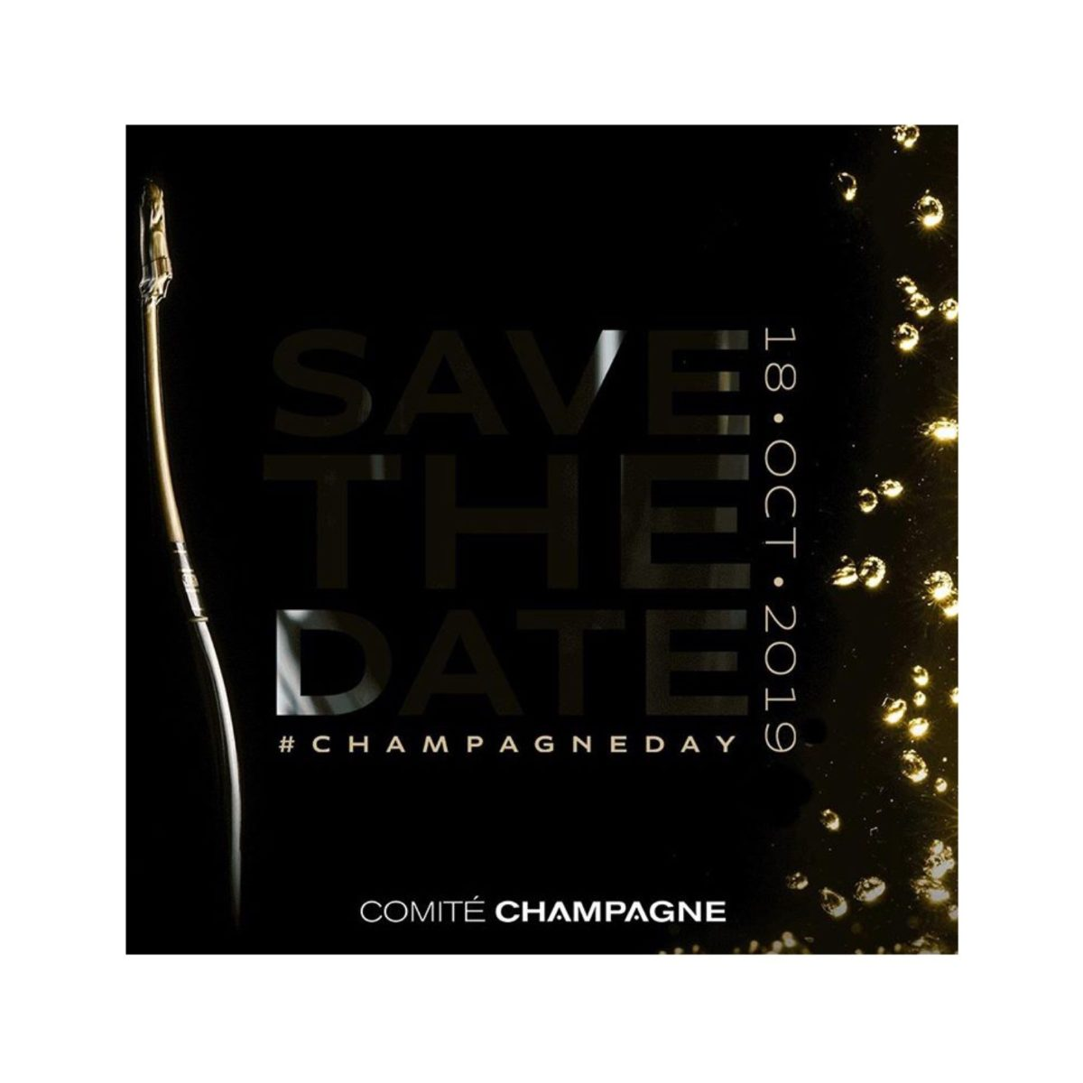 Save the date – October 18 is Global #ChampagneDay