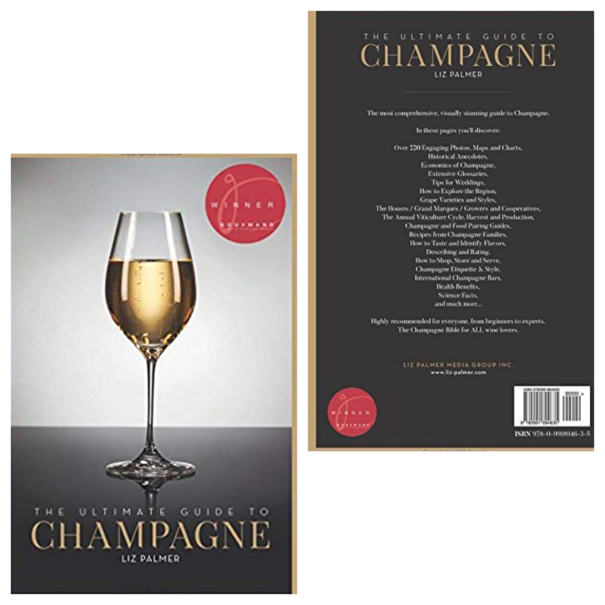 """The Ultimate Guide To Champagne"" is recommended as one of the ten best Champagne books"