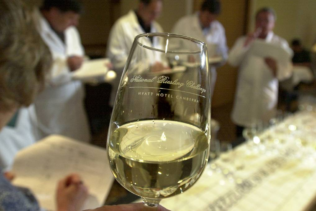 The 20th Canberra International Riesling Challenge starts today