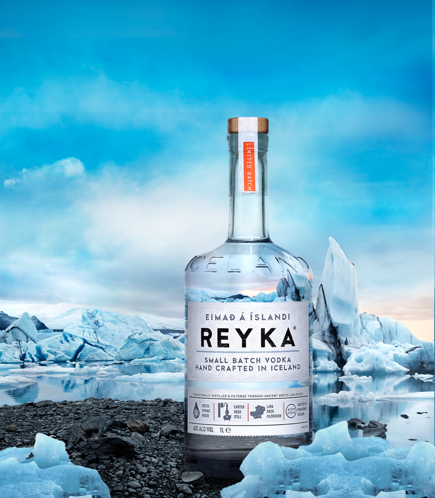 Reyka 'Icelandic' vodka is opening a bar on a glacier