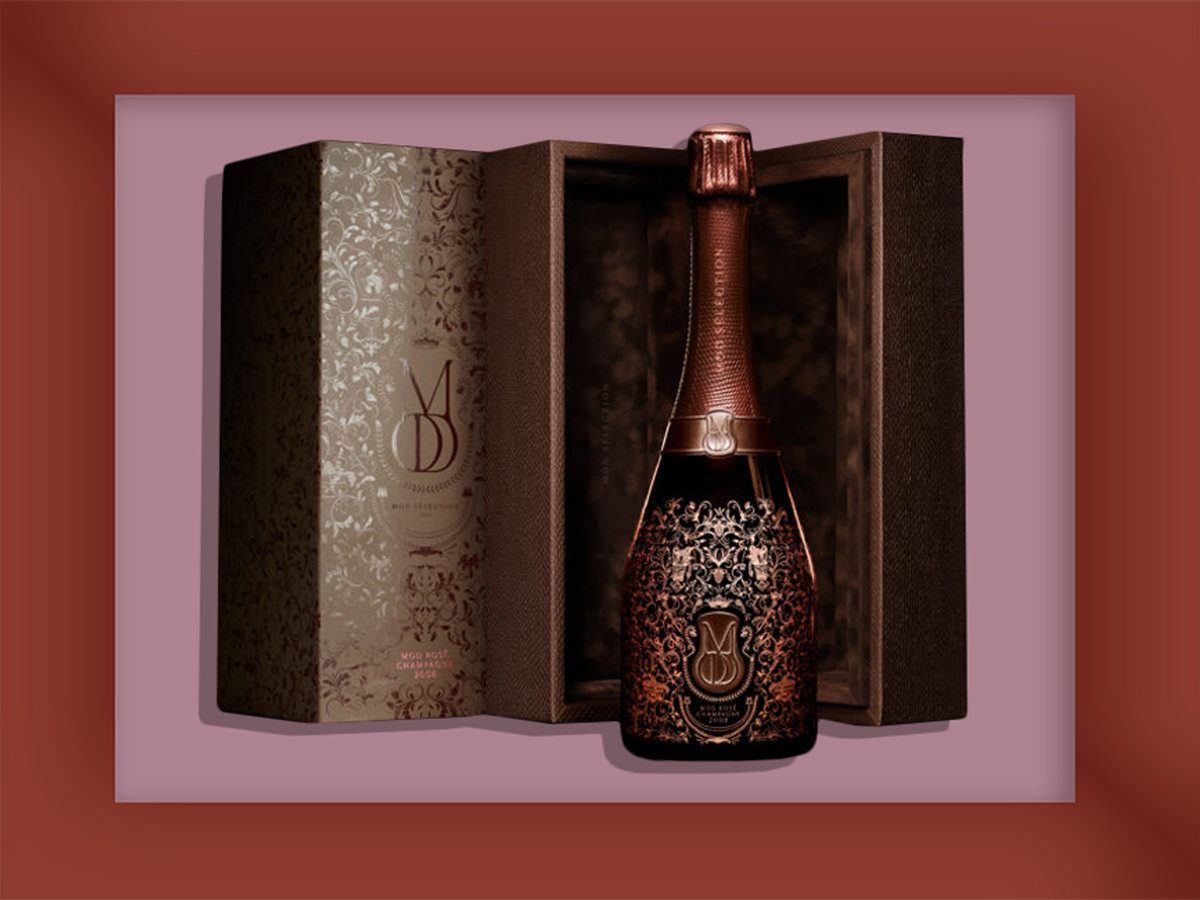 Drake Launches 2008 Vintage Champagne