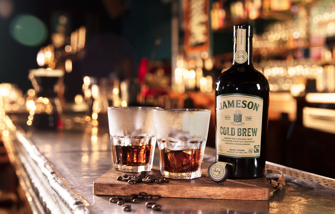 "Jameson enters flavored spirits market with ""Cold Brew"" coffee-infused Whiskey"