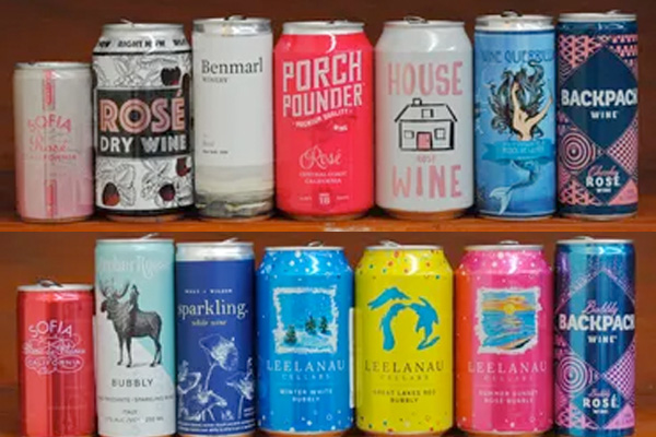 Wine in a can is a robust trend and not a short-term fad