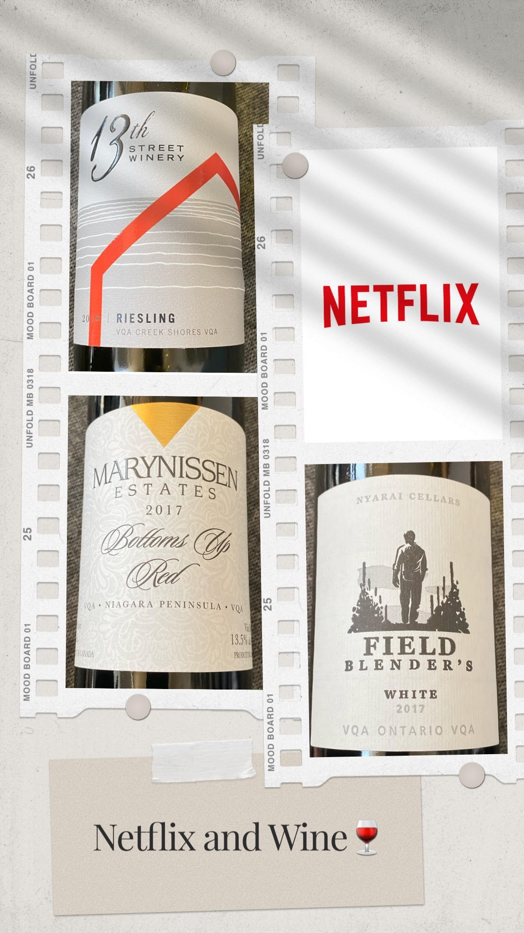 Happy National Wine Day !  Netflix Canada  & Ontario Wine…the perfect pairing!