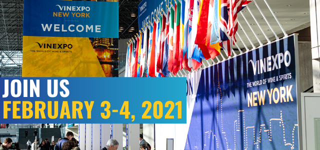 Vinexpo New York announces 2021 dates