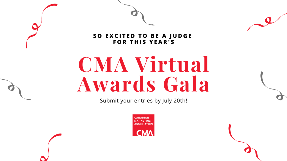 The 2020 Canadian Marketing [CMA] Awards