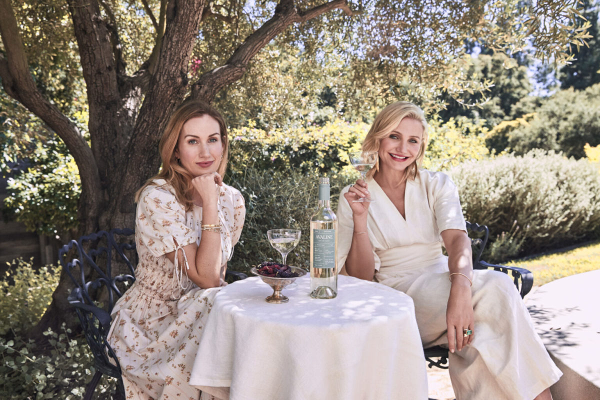 "Cameron Diaz Launches a ""Clean"" Wine Brand with close friend Katherine Power"