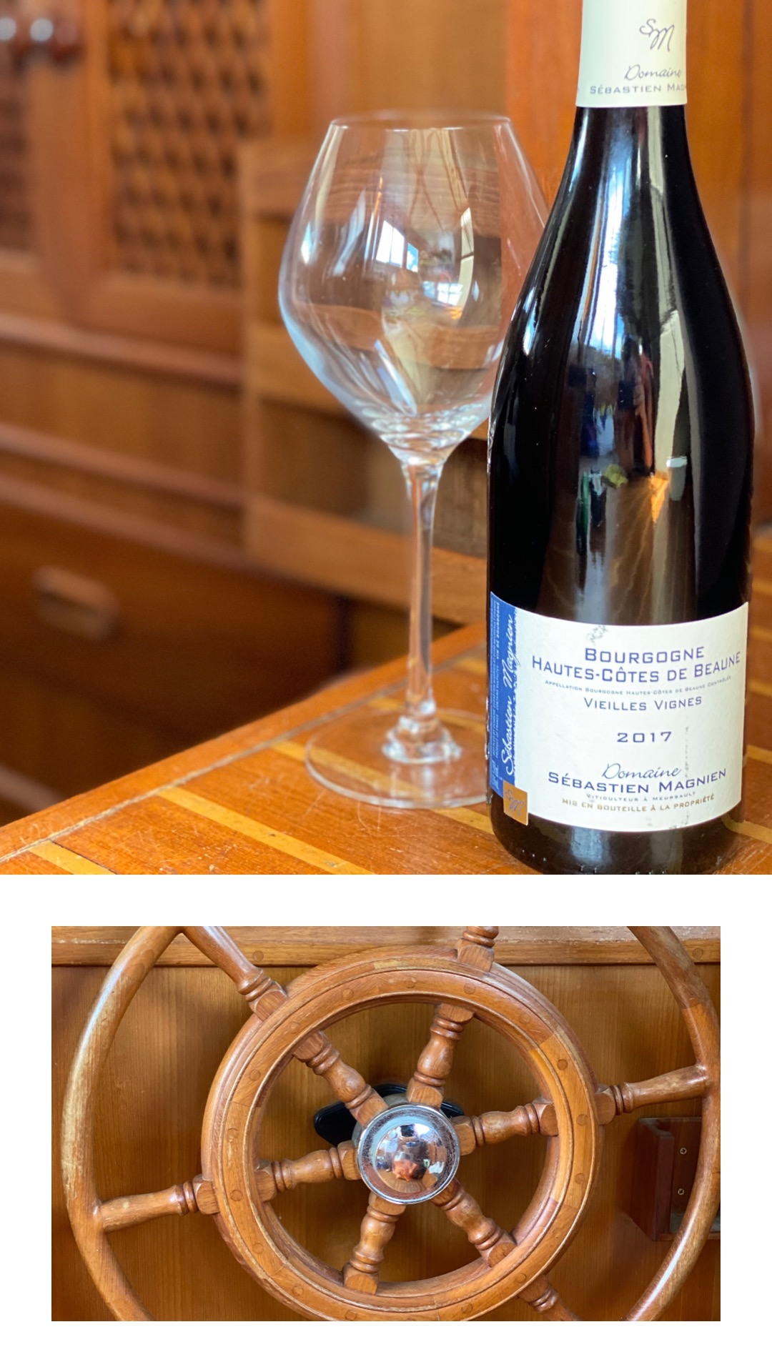 Wine Review:  Domaine Sébastien Magnien, Vieilles Vignes, Hautes Côtes De Beaune 2017