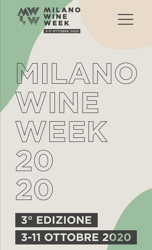 Milano Wine Week Goes Digital – October 3 – 11 2020