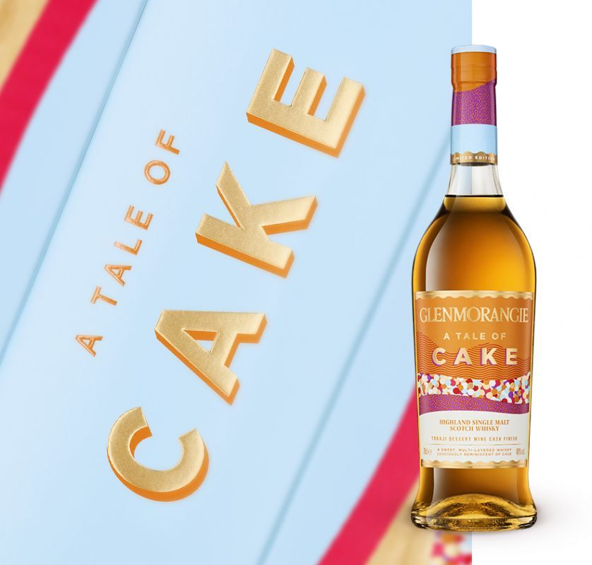 Glenmorangie releases a single malt designed to be paired with cake