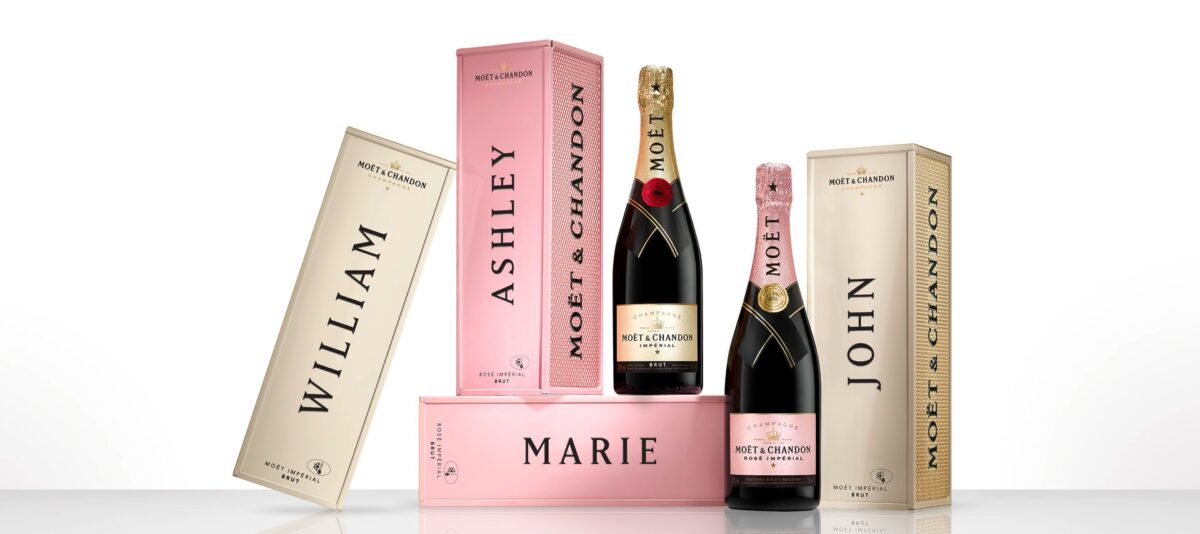 Moët & Chandon launches 'Specially Yours' personalized Christmas gift boxes