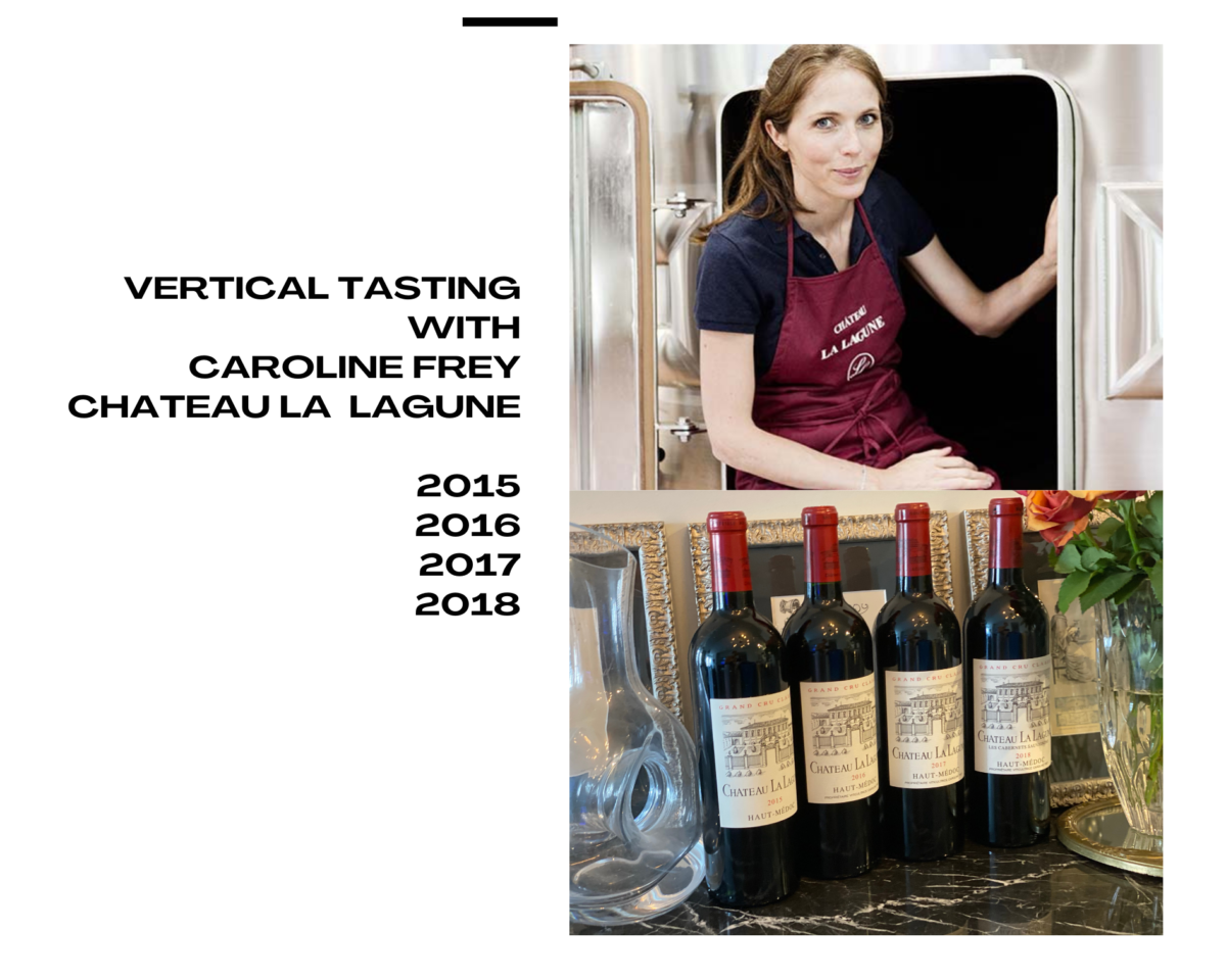 Vertical Tasting with Caroline Frey of Chateau La Lagune – Part 1