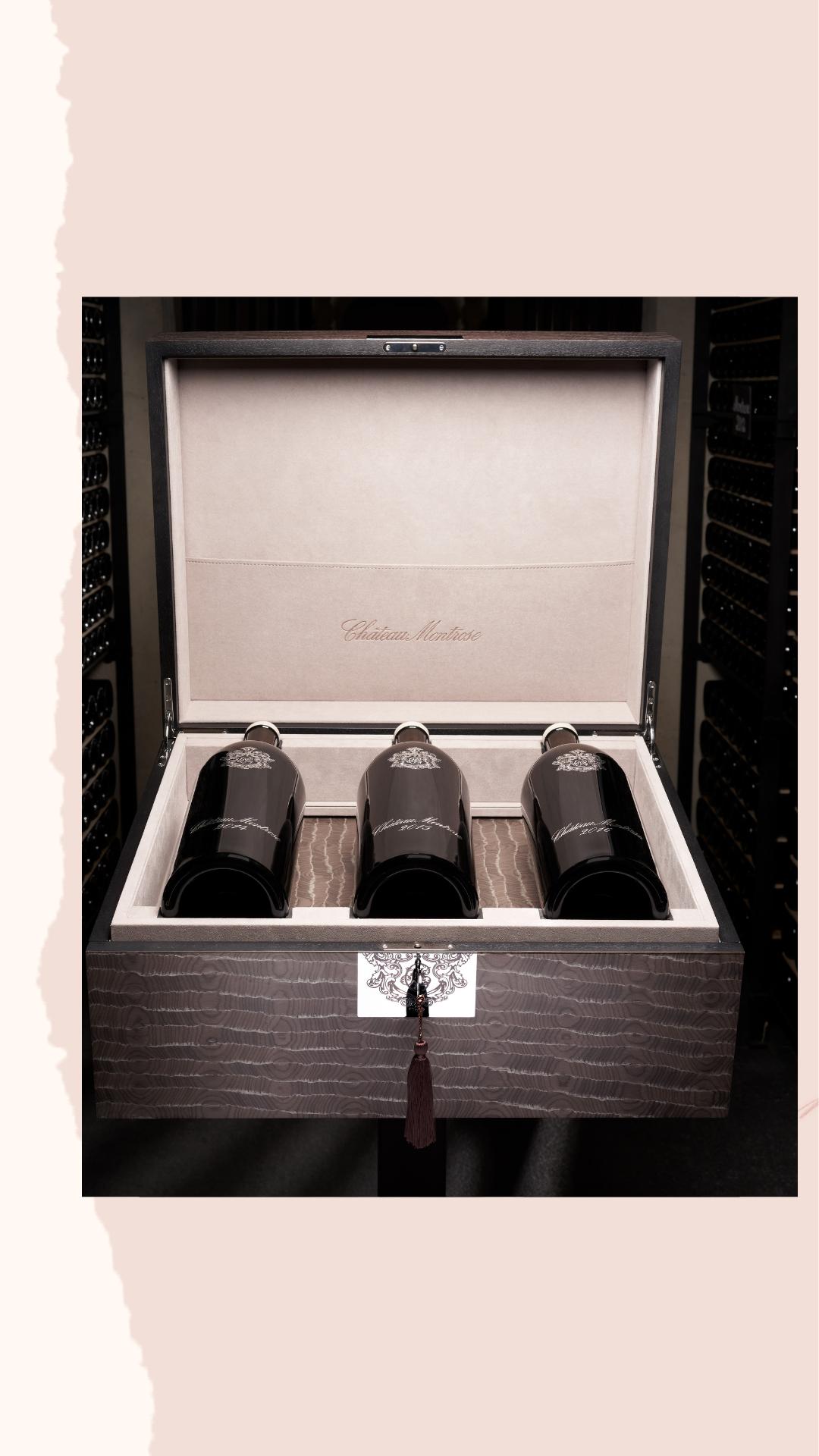 Château Montrose Bicentenary Case Sells at Auction