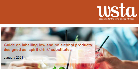 WSTA Launches Low and No Alcohol Labelling Guidance