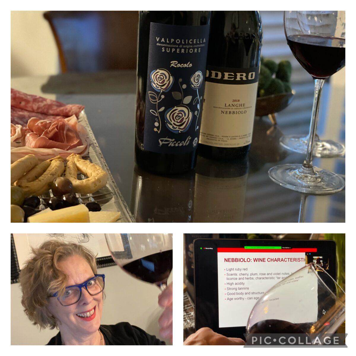 "Great Italian Wines Masterclass – Understanding Indigenous Grape Varieties – The ""Noble"" Nebbiolo and Valpolicella Varieties"