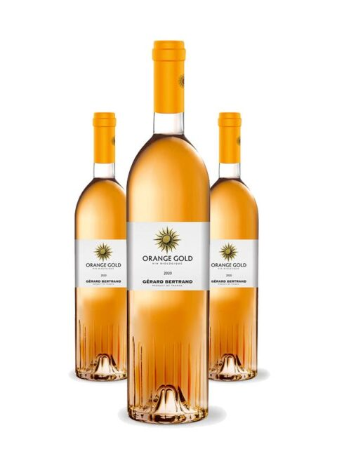 "Gérard Bertrand Launches Organic Orange Wine ""Orange Gold"""