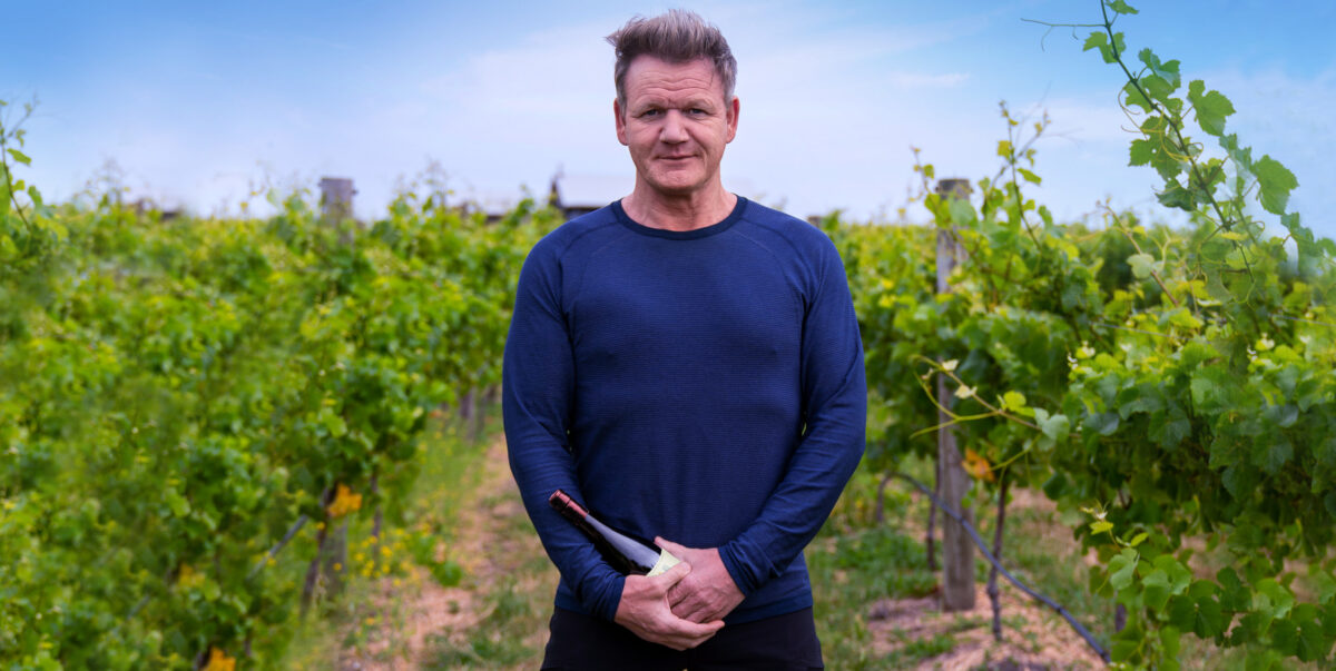 Gordon Ramsay launches his own brand of California Wines