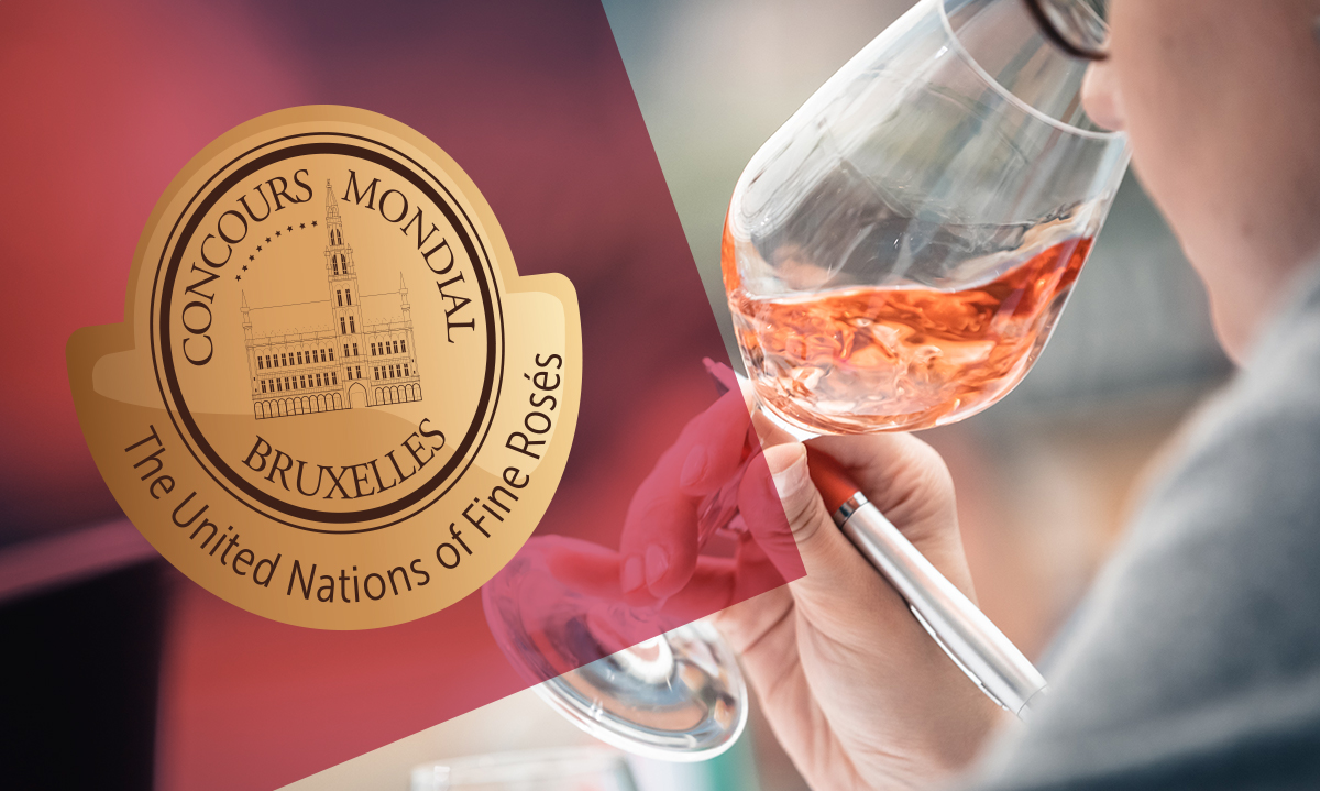 "Results of the ""First Rosé Selection"" by Concours Mondial de Bruxelles"