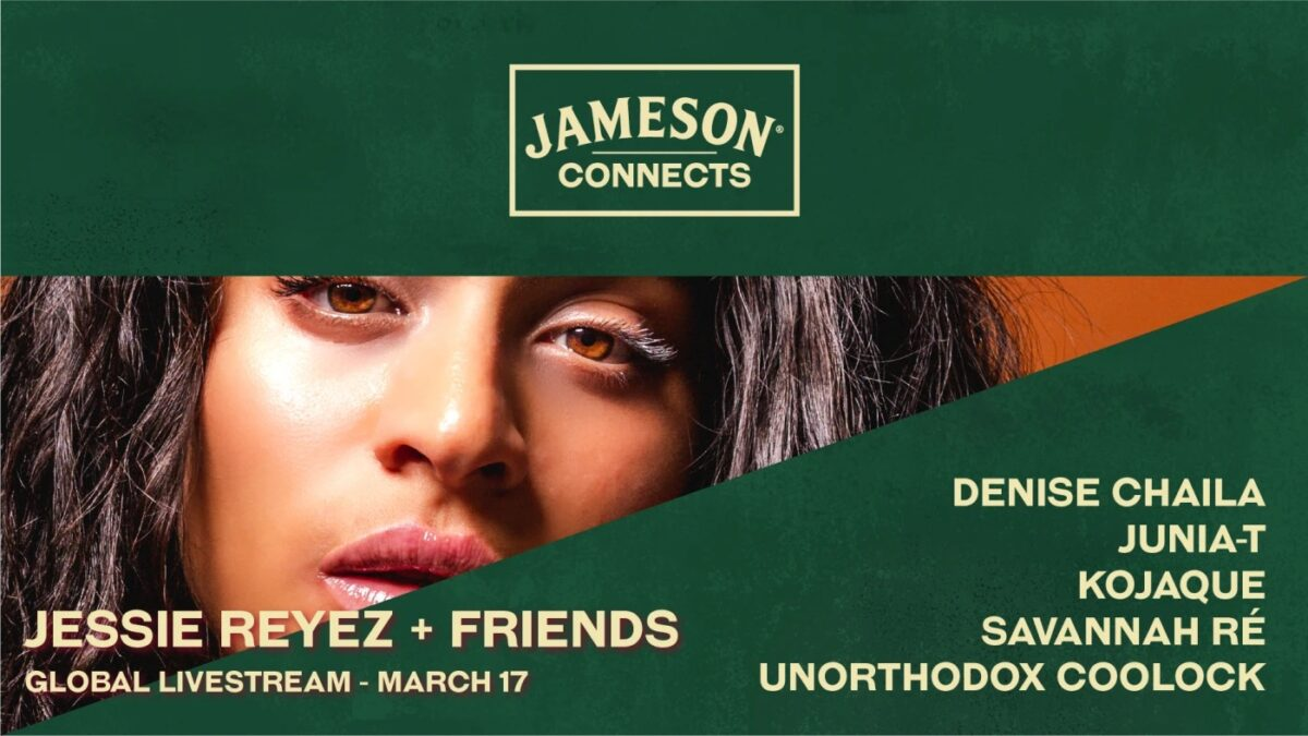 LUCK OF THE IRISH! JAMESONS LAUNCHES A MONTH-LONG ST PATRICK'S DAY CELEBRATION