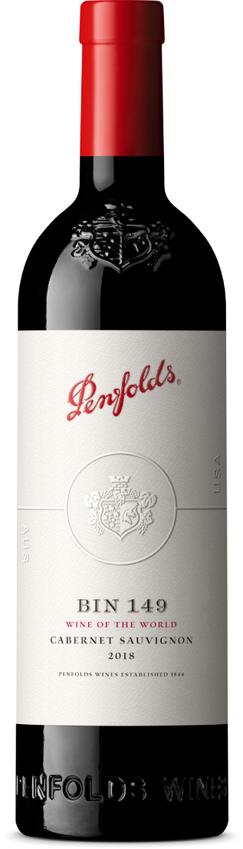 "Penfolds' ""Wine of the World"" Label"