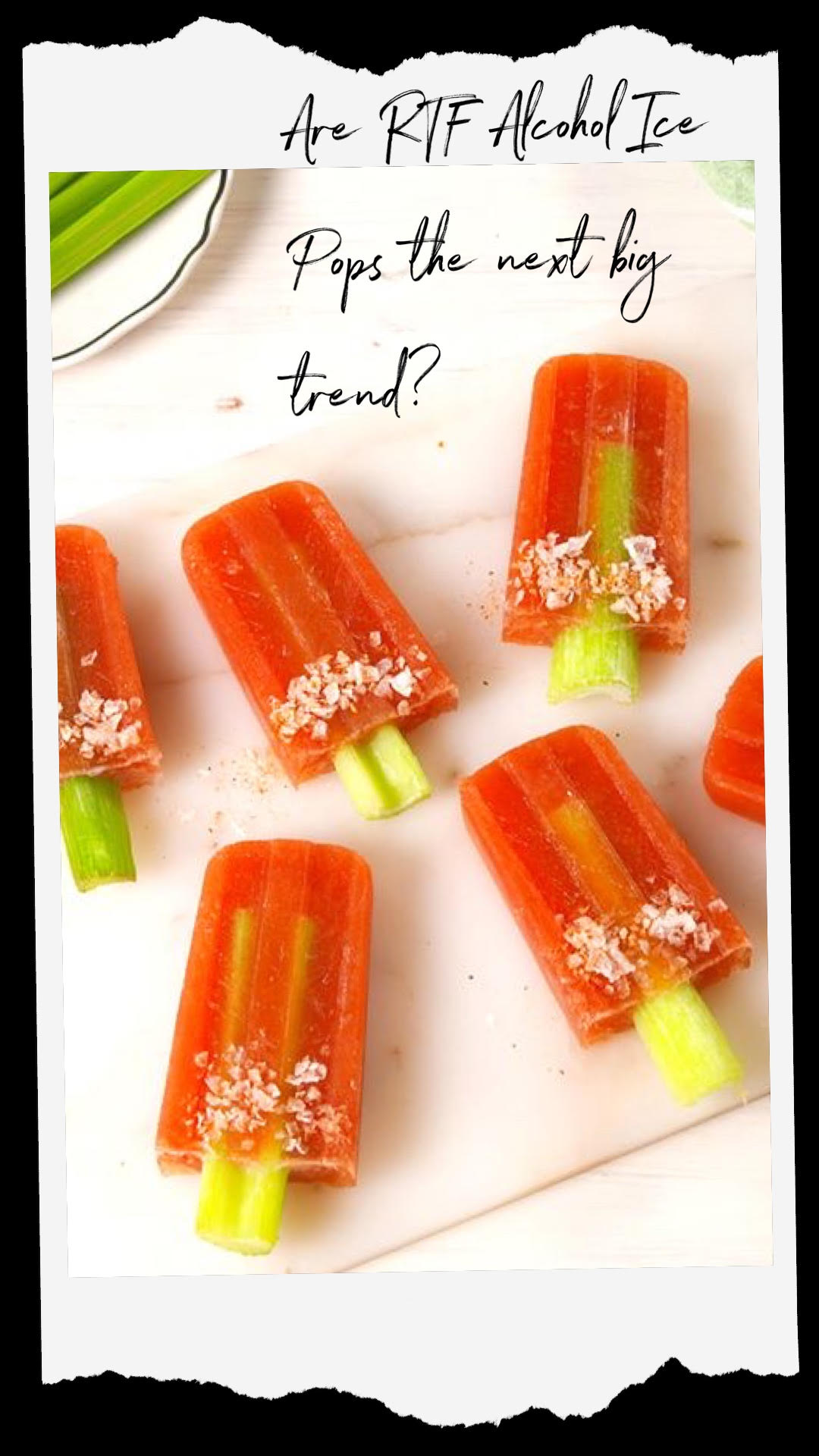 Are RTF Alcohol Ice Pops The Next Big Trend?