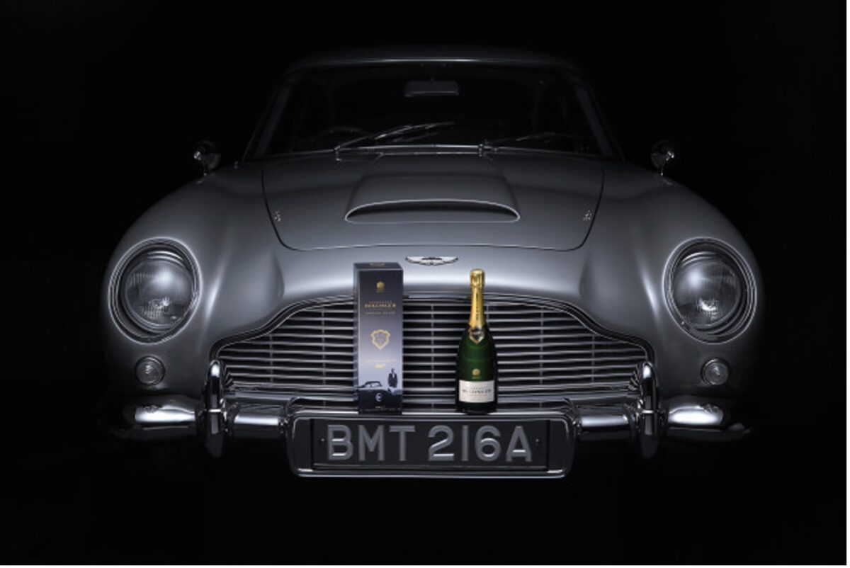 """Bollinger Releases Limited Edition Champagne for the much-anticipated 007 Movie """"No Time To Die"""""""