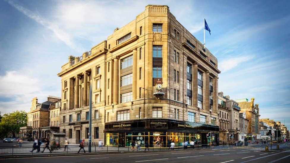 Johnnie Walker opens eight-storey visitor centre in Edinburgh